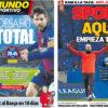 2018年2月20日(火)のバルセロナスポーツ紙:いざ、スタンフォード・ブリッジ