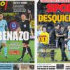 2018年3月02日(金)のバルセロナスポーツ紙:ラス・パルマスで取りこぼし