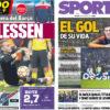 2018年3月08日(木)のバルセロナスポーツ紙:シレセン大活躍でスーペル杯!