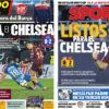 2018年3月11日(日)のバルセロナスポーツ紙:さあ次はチェルシーだ
