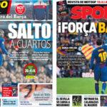 2018年3月14日(水)のバルセロナスポーツ紙:ゆけ、バルサ!