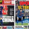 2018年3月16日(金)のバルセロナスポーツ紙:CL抽選会とイニエスタの去就
