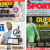 2018年3月23日(金)のバルセロナスポーツ紙:世界王者対決とアルトゥール