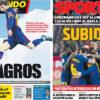 2018年4月02日(月)のバルセロナスポーツ紙:メッシに導かれ、チームは跳ぶ