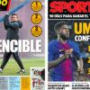 2018年4月06日(金)のバルセロナスポーツ紙:無敗記録とウンティティ