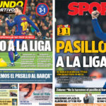 2018年4月08日(日)のバルセロナスポーツ紙:リーガ優勝へまた前進