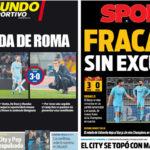 2018年4月11日(水)のバルセロナスポーツ紙:大失敗 IN チャンピオンズ