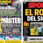 2018年4月12日(木)のバルセロナスポーツ紙:敗因分析と白組勝ち上がりへの苛立ち
