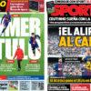 2018年4月20日(金)のバルセロナスポーツ紙:リーガ優勝まであと3ポイント!