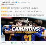 UEFAユースリーグ優勝!U19欧州王者!