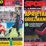 2018年4月26日(木)のバルセロナスポーツ紙:やっぱり勝つマドリー