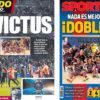 2018年4月30日(月)のバルセロナスポーツ紙:ドブレーテ(二冠)達成!