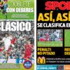 2018年5月02日(水)のバルセロナスポーツ紙:白組はいつもこうやって