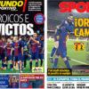 2018年5月07日(月)のバルセロナスポーツ紙:誇りのクラシコ、無敗続く