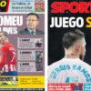 2018年5月08日(火)のバルセロナスポーツ紙:白いアンチバルサキャンペーン