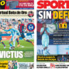 2018年5月14日(月)のバルセロナスポーツ紙:リーガ無敗ならず