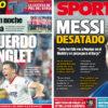 2018年5月16日(水)のバルセロナスポーツ紙:メッシ発言とラングレ