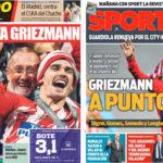 2018年5月18日(金)のバルセロナスポーツ紙:引き続きグリースマン