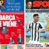 2018年5月24日(木)のバルセロナスポーツ紙:バルトメウ、ラジオで語る