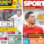 2018年5月30日(水)のバルセロナスポーツ紙:ラングレ移籍で基本合意