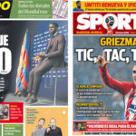 2018年6月05日(火)のバルセロナスポーツ紙:ウンティティとグリースマン