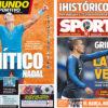2018年6月11日(月)のバルセロナスポーツ紙:歴史的ナダルとグリースマン