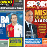 2018年6月13日(水)のバルセロナスポーツ紙:白組がロペテギを引っこ抜く!