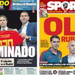 2018年6月14日(木)のバルセロナスポーツ紙:ロペテギ電撃解任