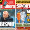 2018年6月22日(金)のバルセロナスポーツ紙:アルゼンチン、崖っぷち