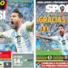 2018年6月27日(水)のバルセロナスポーツ紙:アルゼンチンが生き残った!