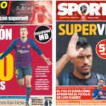 2018年7月09日(月)のバルセロナスポーツ紙:パウリーニョ、大金を残し中国へ