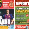 2018年7月10日(火)のバルセロナスポーツ紙:アルトゥール獲得、ルーチョ代表監督