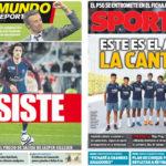 2018年7月19日(木)のバルセロナスポーツ紙:ラビオとカンテラーノたち