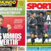 2018年7月20日(金)のバルセロナスポーツ紙:バルサ入団を望むウイリアン