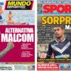 2018年7月24日(火)のバルセロナスポーツ紙:突然のマルコム登場