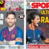 2018年7月31日(火)のバルセロナスポーツ紙:カピタン・メッシ始動