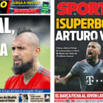 2018年8月03日(金)のバルセロナスポーツ紙:ビダル爆弾