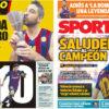 2018年8月18日(土)のバルセロナスポーツ紙:ナバーロ引退とバルサのリーガ開幕と
