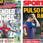 2018年8月22日(水)のバルセロナスポーツ紙:ポグバとかラキティッチとか