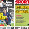 2018年9月06日(木)のバルセロナスポーツ紙:ラビオとバルベルデの契約更新