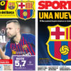 2018年9月28日(金)のバルセロナスポーツ紙:新エスクード案発表される