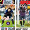 2018年10月08日(月)のバルセロナスポーツ紙:またまたまたまた勝てず