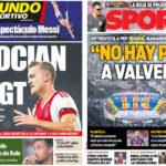 2018年10月11日(木)のバルセロナスポーツ紙:ペップ・セグラ語る