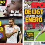 2018年10月12日(金)のバルセロナスポーツ紙:パコ大活躍とデ・リフト