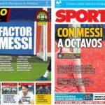 2018年11月06日(火)のバルセロナスポーツ紙:レオ準備OK