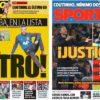 2018年11月09日(金)のバルセロナスポーツ紙:ついにジョルディ・アルバ招集!