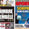 2018年11月14日(水)のバルセロナスポーツ紙:デンベレとダニ・オルモ