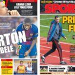 2018年11月15日(木)のバルセロナスポーツ紙:勝たねばならないルーチョスペイン