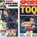 2018年11月20日(火)のバルセロナスポーツ紙:スアレスがデンベレへ助言