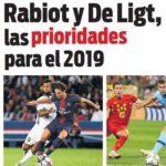 2019年夏の優先目標は、ラビオ&デ・リフトと